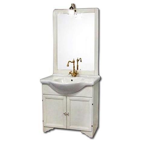 Mobile bagno Duchessa cm 85 colore bianco decape\'
